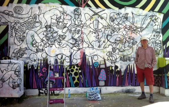 """""""Le temps est devant ta porte, fais le mur"""" - Bordeaux 2016"""