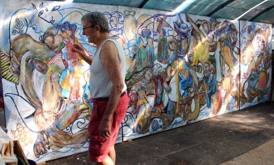 Peintre, écrivain, poète, nomade, homme de théâtre
