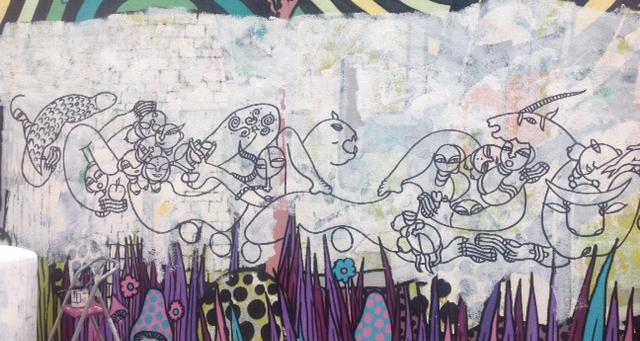 Mural, street art - Bordeaux